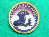 WWII Aleutian Islands Command Patch