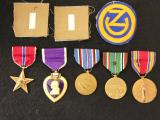 WWII 102nd Infantry Division 379th Field Artillery Group