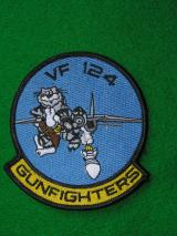 U.S. Navy VF124 Squadron Patch -F14 Tomcat