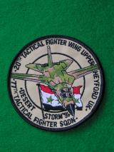 USAF 20th Tactical Fighter Wing Patch