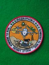 USAF 1990's Iraq Novelty Patch