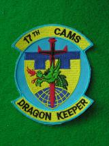 USAF 17th Cams Squadron Patch