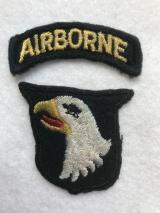 English Made WWII 101st Airborne Division Patch