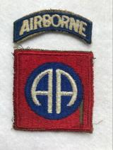 WWII US Army 82nd Airborne Division Patch