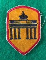 US ARMY Occupation Berlin District Patch