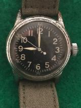 WWII US Army Air Force Elgin Watch Dated 1944
