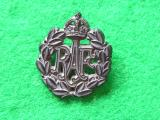 Royal Air Force Airman Cap Badge - Economy Issue