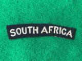 WWII SAAF South Africa Title