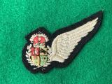 WWII South African Air Force Aircrew Observer Half Wing